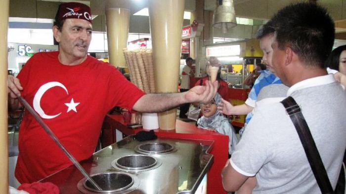 Dondurma, Es Krim Turki Yang Unik