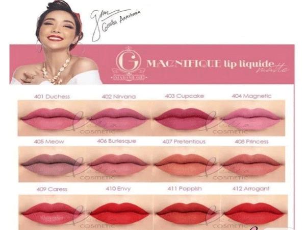 REVIEW : Lip Liquid Matte Madame Gie, Harga Murah Bikin Tahan Lama