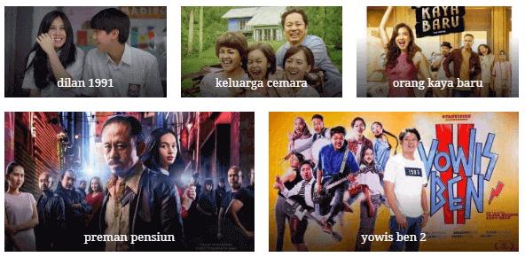 5 Film Indonesia dengan Penjualan Tiket Terbanyak