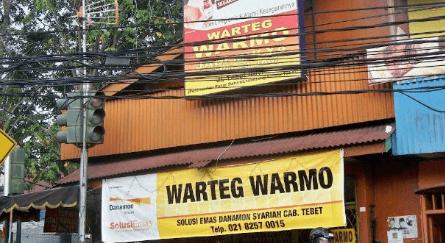Warteg Warmo, Warteg Legendaris Ibu Kota