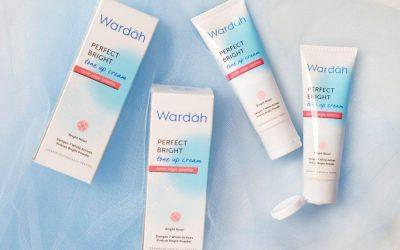 Wardah Perfect Bright Tone Up Cream, Wajah Cerah seketika